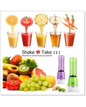 Shake n Take 3 Smoothie Blenders with 2 Travel Bottle