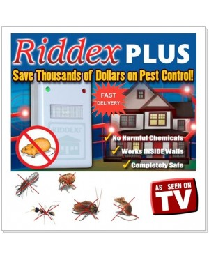 As Seen on TV Riddex Pest Control Repelling Aid Built in Night Light