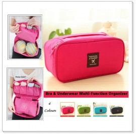 Bra & Underwear Multi-Function Waterproof Pouch Travel Organizer Storage