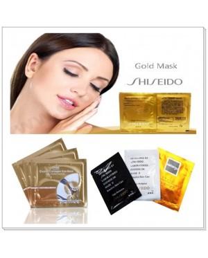 (MIX) Shiseido Peel Off Mask (Black / White / Naturgo / Gold Bird Nest) & Collagen Eye Mask