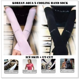 Korean Aqua X Cooling Hand Sock - 7 Colours