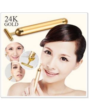 Japan Best Selling 24K Gold T Bar Beauty Face Slimming Vibration Massage