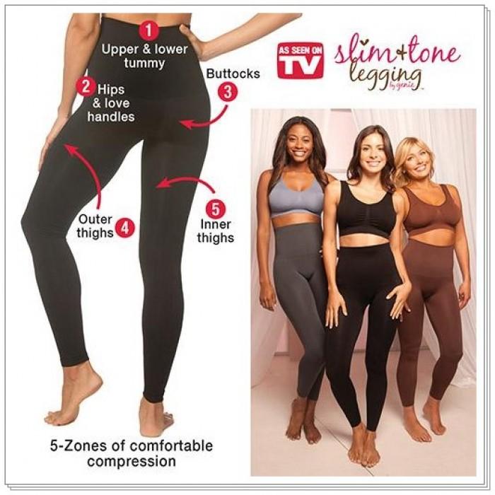 f0b1bbf2e9b66 Slim & Tone Leggings By Genie In Black
