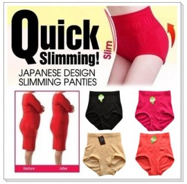 Quick Slimming High Waist Panty / Panties / Underwear