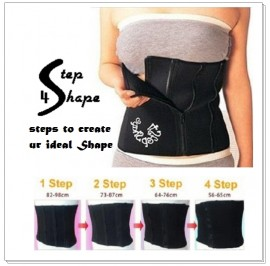 Japan 4 Step Shape Tummy Wrap Slimming Belt / Bengkung
