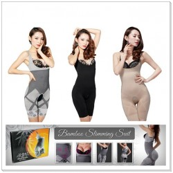 Natural Bamboo Charcoal Slimming Suit - 3 Colours
