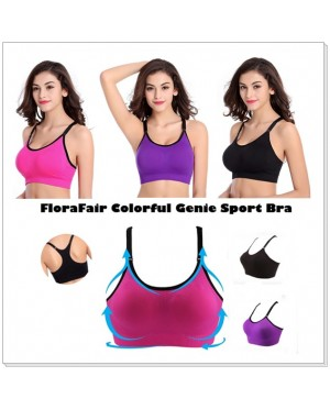 FloraFair Colorful Sport Bra