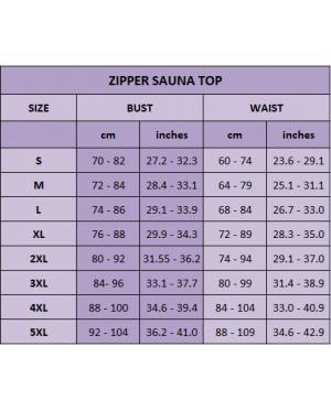 Hot Sweat Body Shapers - Zipper Slimming Sauna Vest / Singlet / Shirt