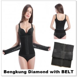 Bengkung Diamond ala sajat 16 Tulang with Belt